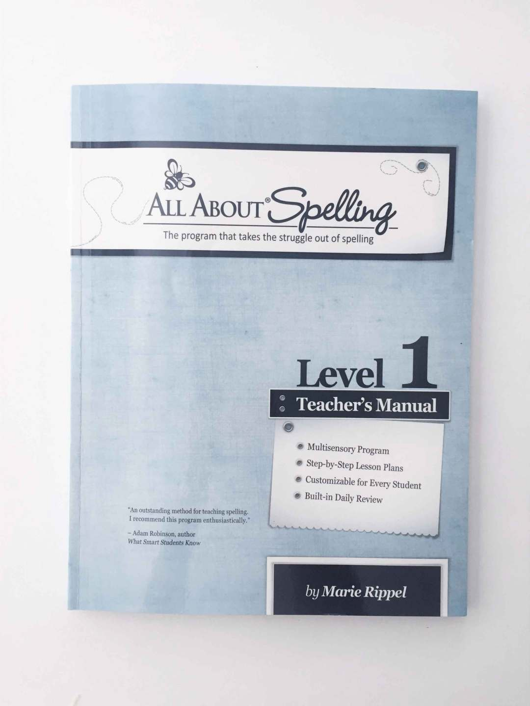 REVIEW: All About Spelling Level 1