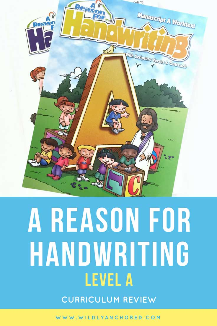 REVIEW: A Reason for Handwriting Level A