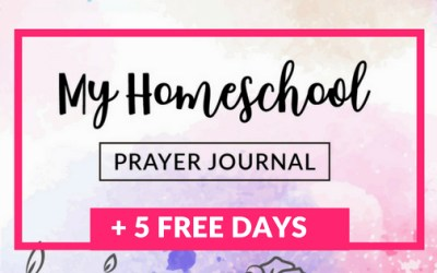 My Homeschool Prayer Journal + 5 FREE Sample Pages