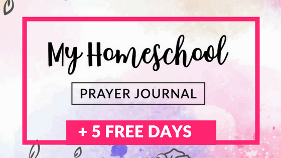 "My Homeschool Prayer Journal (Printable) 8.5""x11"" - Wildly Anchored"