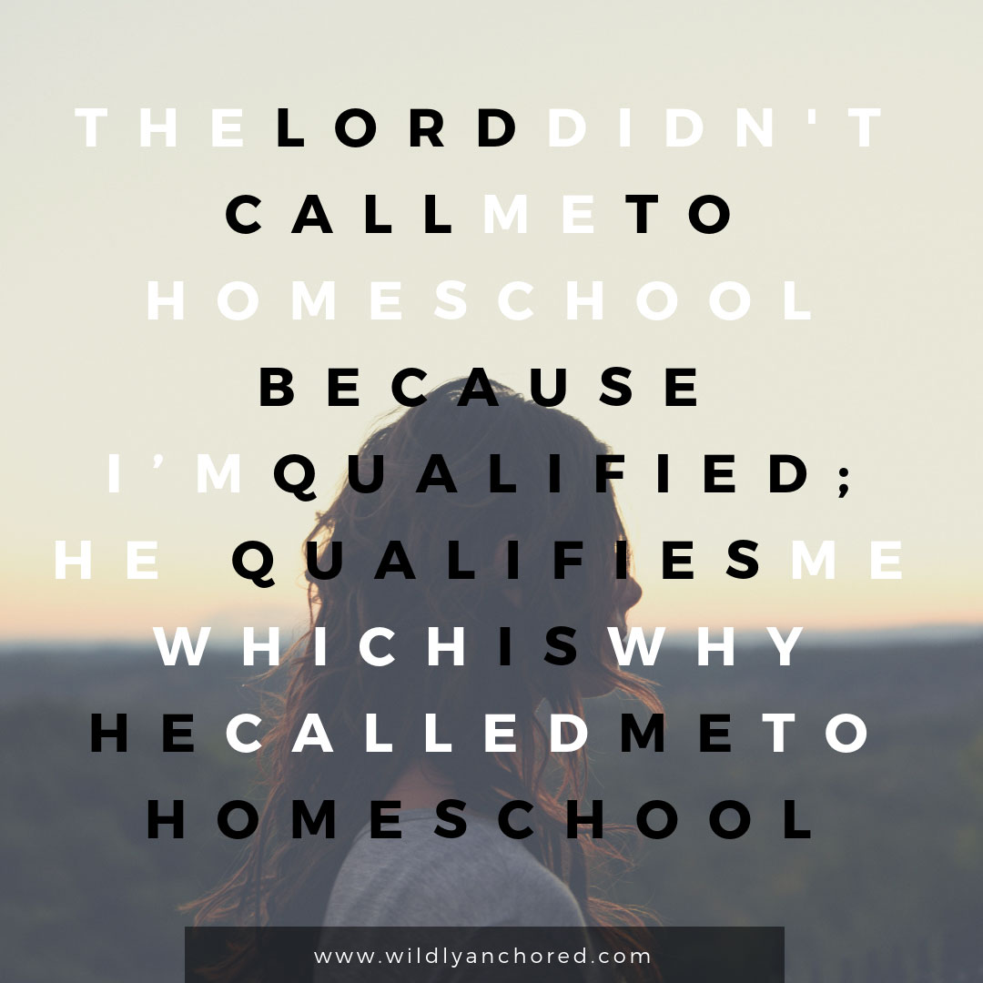 Trusting God When He Calls You To Homeschool + FREE 30 Day Trust Challenge Printable
