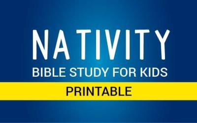 Nativity Bible Study for Kids
