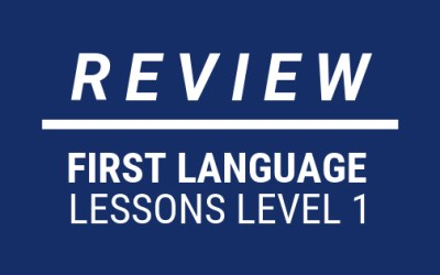 REVIEW: First Language Lessons Level 1