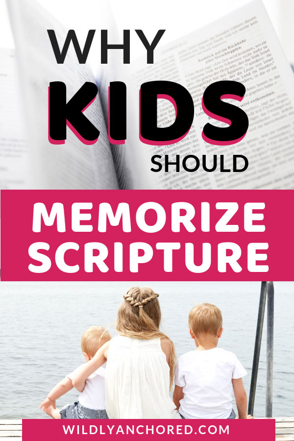 Find out why kids should memorize scripture and how it's a matter of their destiny!! #ChristianFamily #ChristianKids #memorizescripture #scripturememorization