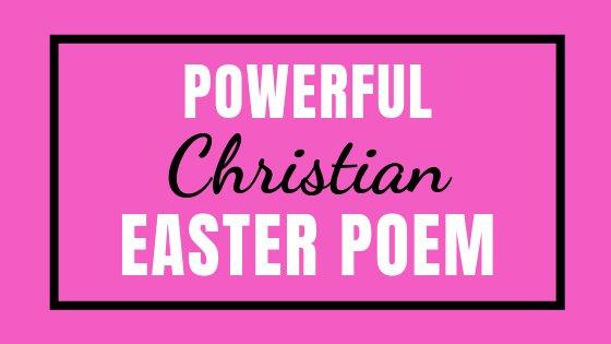 Power Christian Easter Poem