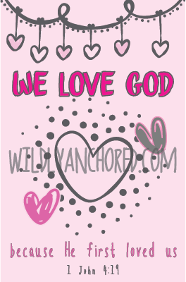 Christian Valentine's Day Cards Printable