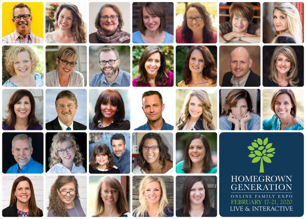 Homeschooling doesn't have to feel lonely. Register for the Homegrown Generation Online Family Expo and be encouragement in your homeschooling journey!