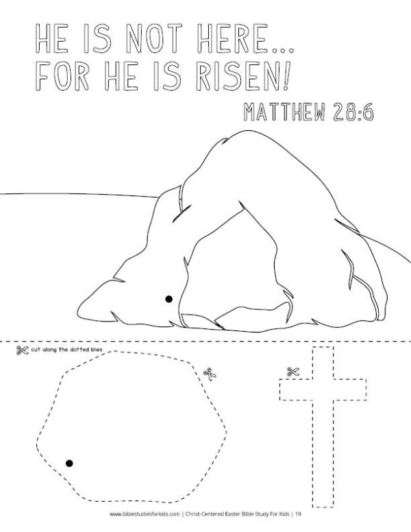 Christ-Centered Easter Bible Study For Kids (Revised & Expanded)