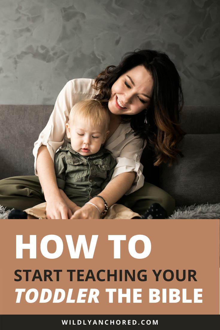 Teaching your kids the Bible at a young age is important. Find out how to start teaching your toddler the Bible and develop a love for it.