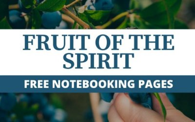 Fruit Of The Spirit Bible Study For Kids + FREE Notebooking Pages