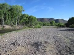 Gila River gravel bar