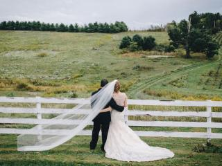 Jessie + Mark - Feisley Tree Farms Wedding