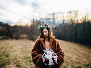 Styled Boho Bridal Shoot Pittsburgh - Wild Native Photography