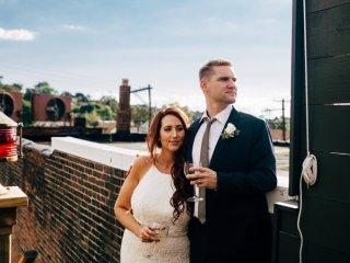 Maura + Matt's Wedding Day