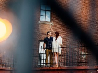 Maura + Matt - Penn Brewery Engagement Event