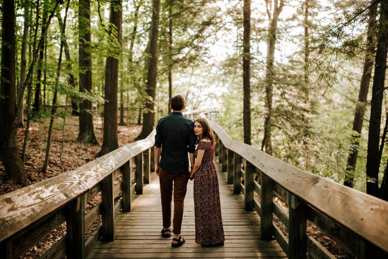Engagement Cuyahoga Valley Ohio