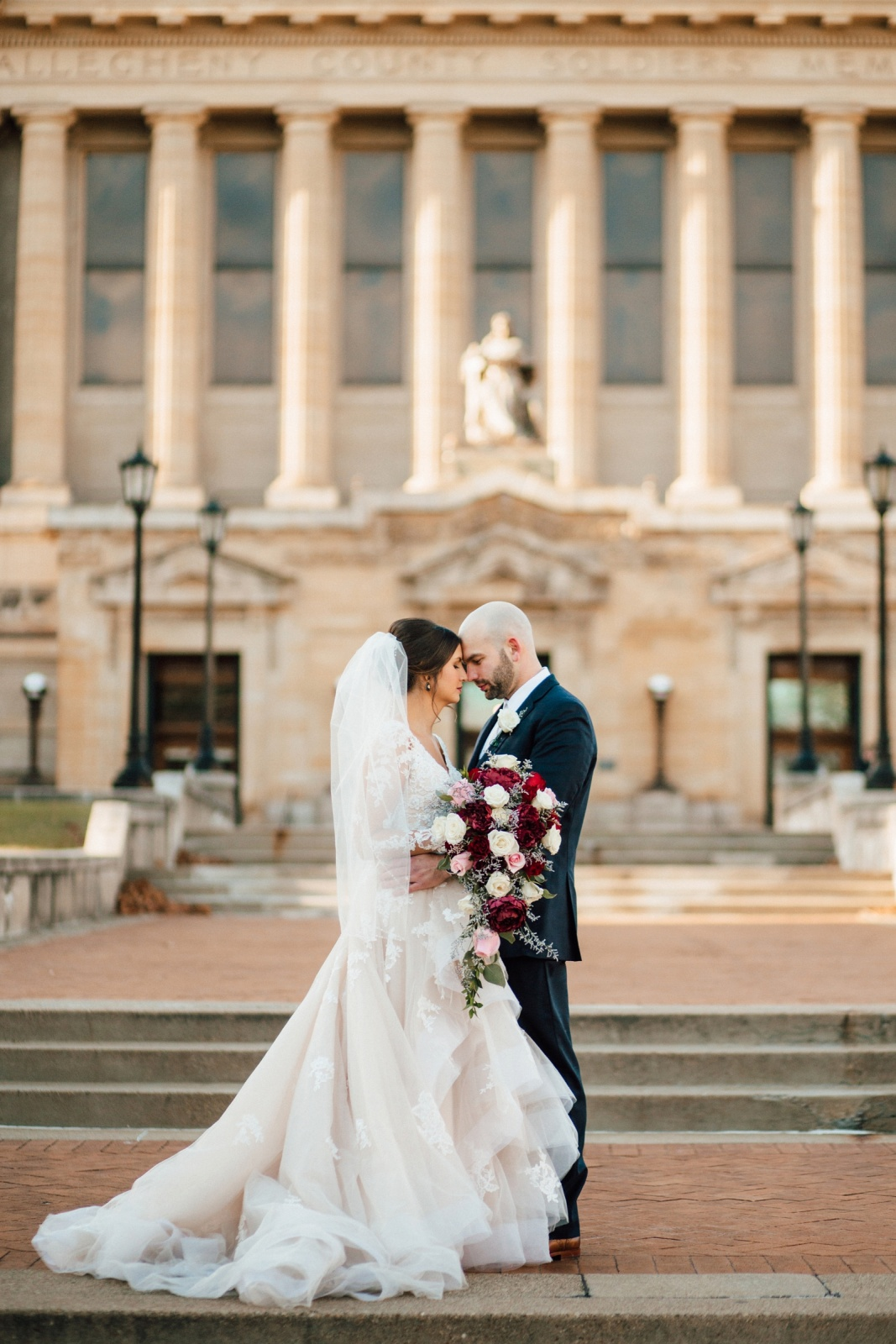 Pittsburgh Wedding Photographer Heinz Chapel Soldiers and Sailors