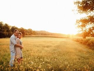 Alysha + Lucas - Saxonburg Farm Engagement