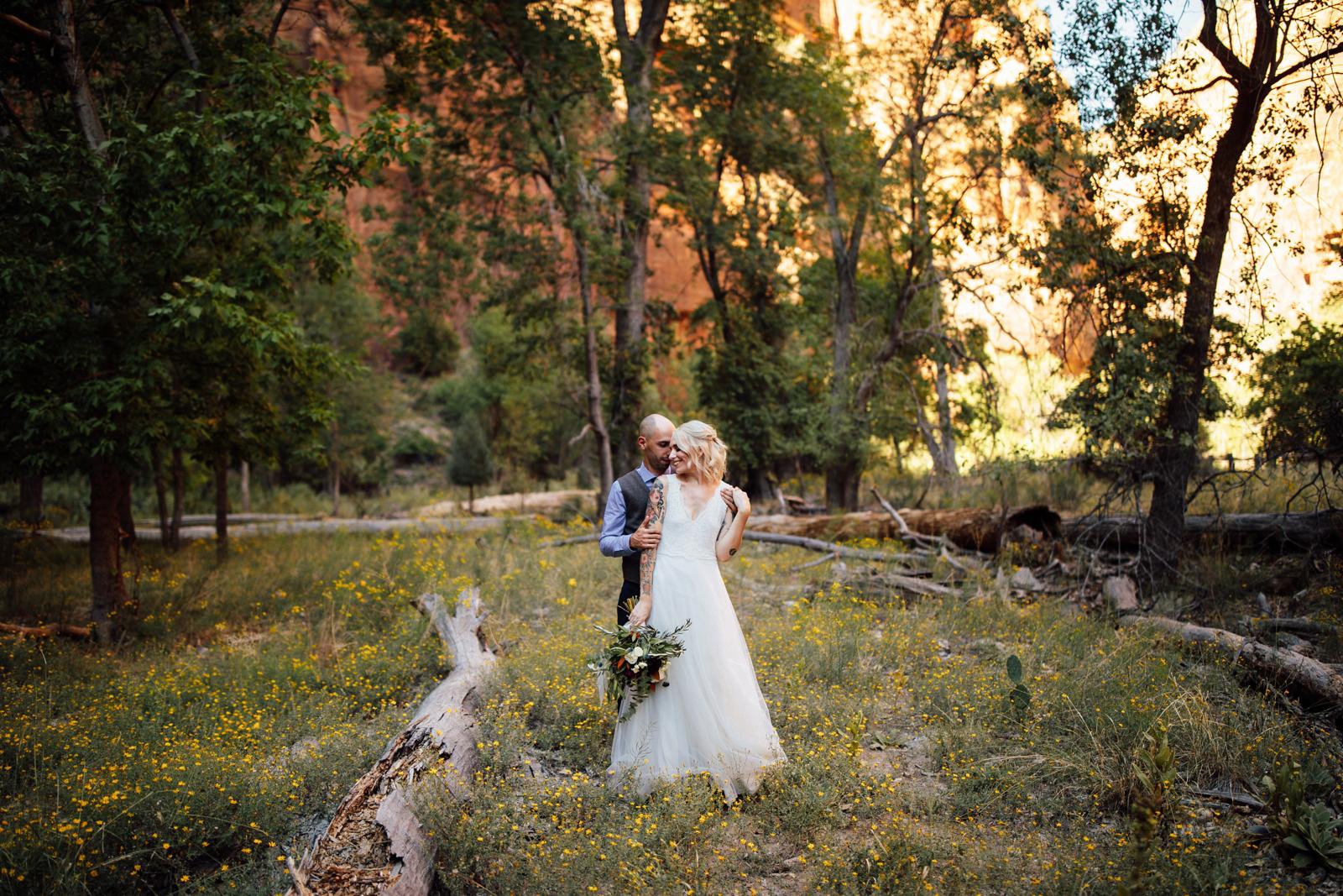 Zion National Park Wedding Destination Elopement Photographer