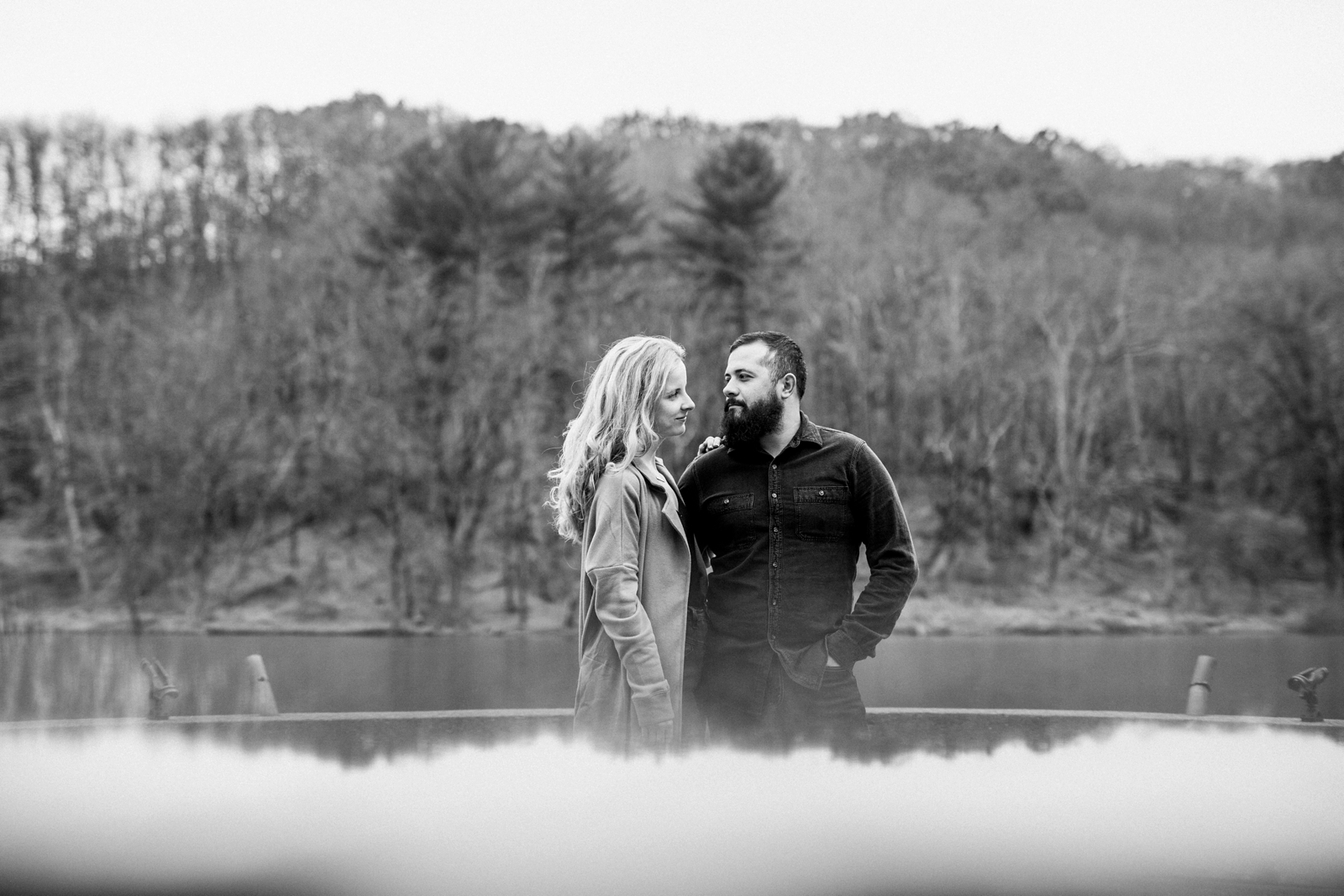 North Park Pittsburgh Engagement Session Photographer