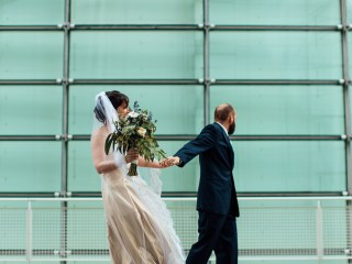 Angie + Mike - David L. Lawrence Convention Center Wedding