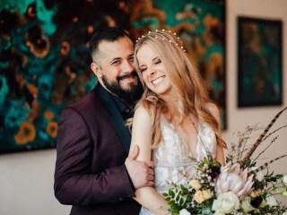 Kira + Cameron- Slate Studio Pittsburgh Wedding