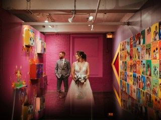 Danica + Zach - Mattress Factory Museum Wedding