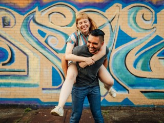 Amanda + Ace - Pittsburgh Engagement Sesh