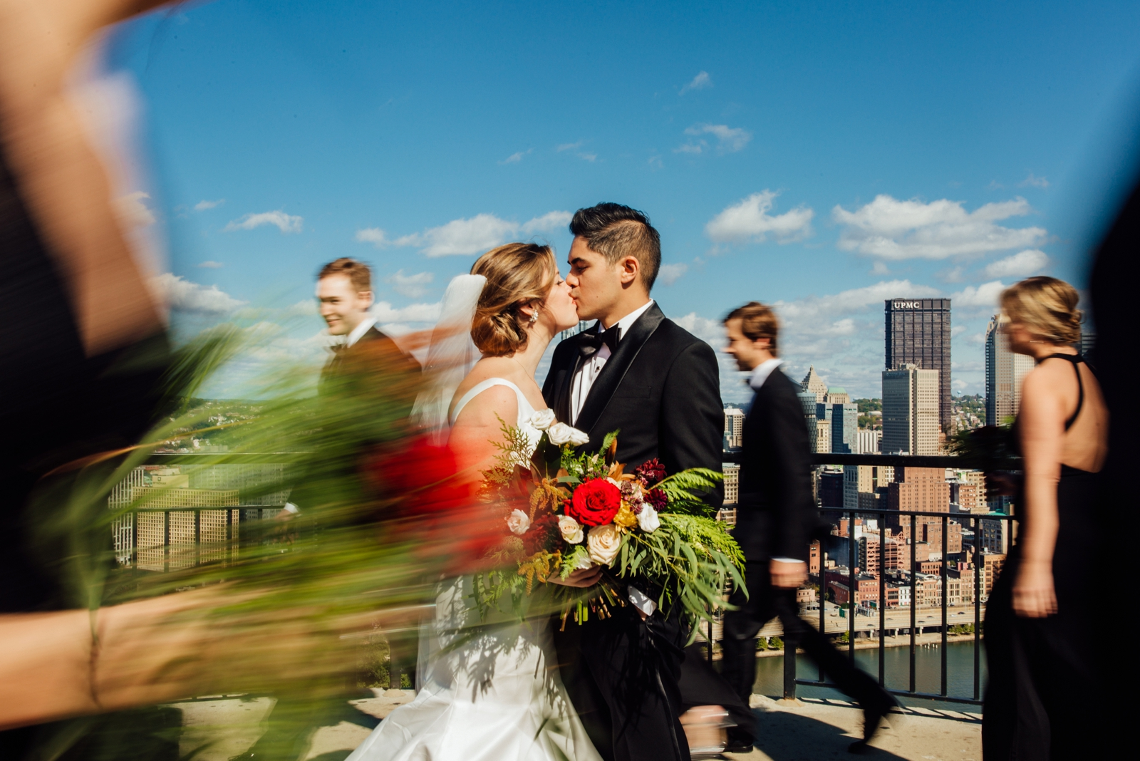 Hotel Monaco Downtown Pittsburgh Wedding Photographer Wild Native