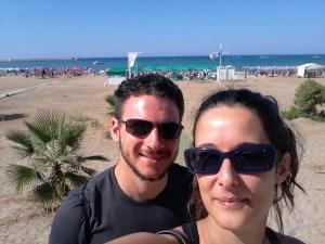 Spiaggia a Rethymno