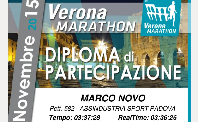 Maratona di Verona (14^ Verona Marathon)