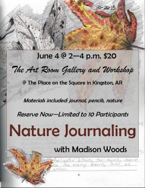 Nature Journaling in Kingston, Arkansas