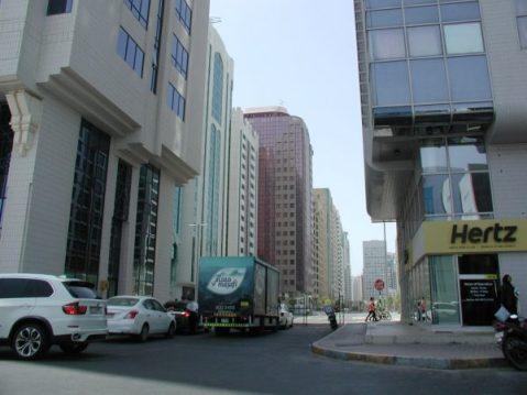 A street in Abu Dhabi