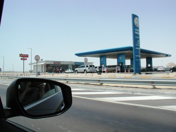 Gas station near Abu Dhabi