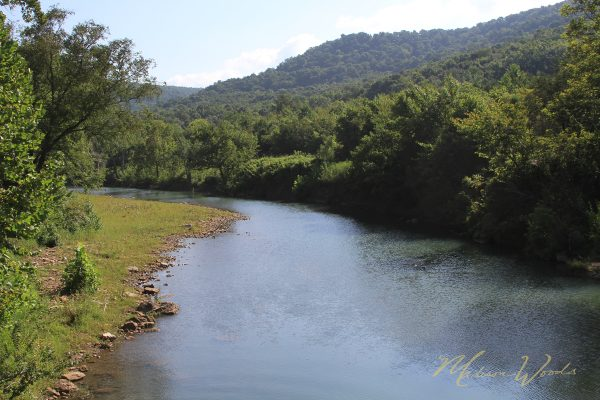 King's River is a beautiful sight along my favorite Ozark backroad.