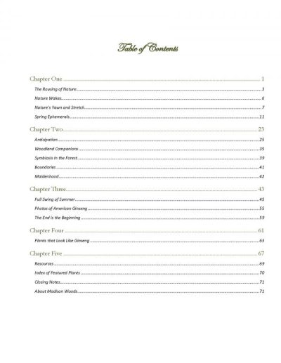 sample page from American Ginseng & Companions