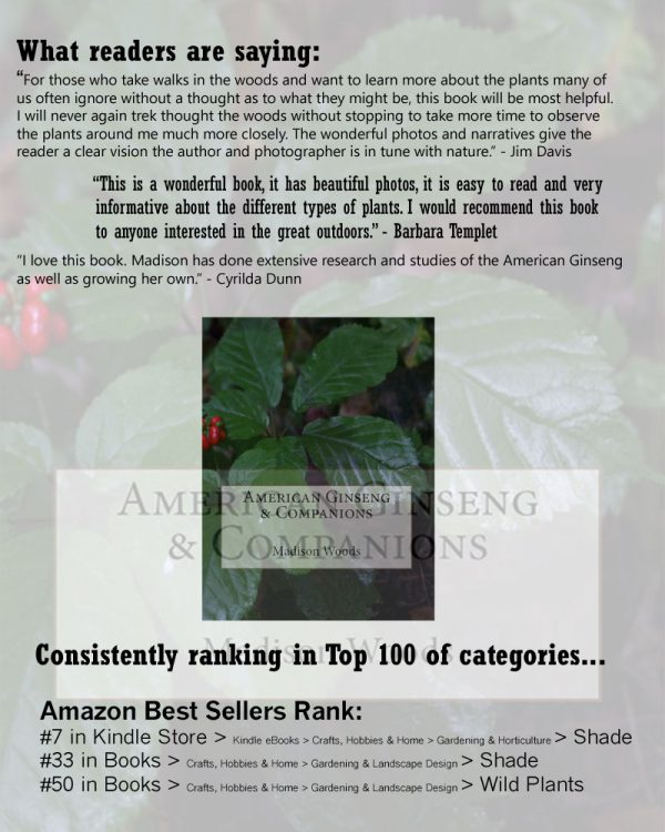 American Ginseng & Companions testimonials page.