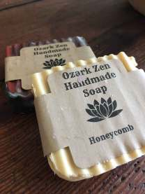 Handmade soap from Ozark Zen