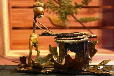 OOAK Forest Folk Woodworker
