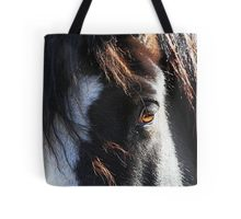 Tote bag featuring Comanche's eye.