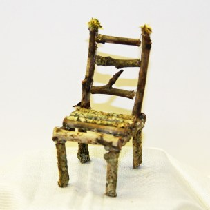A twig chair for Forest Folk