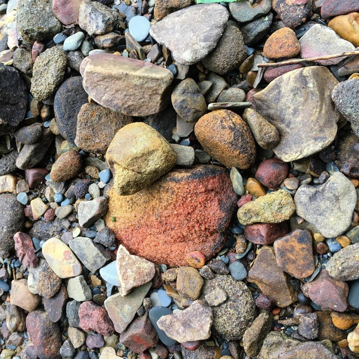 This rock will make a great pigment.