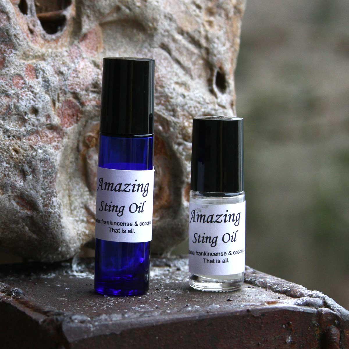 Amazing Sting Oil from Wild Ozark