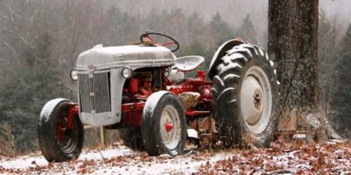 The old Ford 8N tractor.
