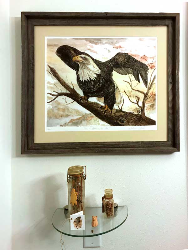 My art has found a home in North Dakota too!