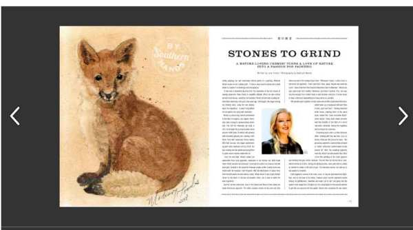 Stones to Grind, an article about my work in Okra Magazine written by Lisa J. Tomey.