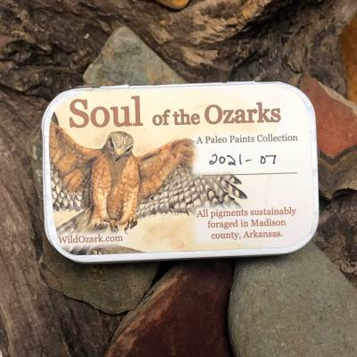 The cover of Soul of the Ozarks collection no. 2021-07