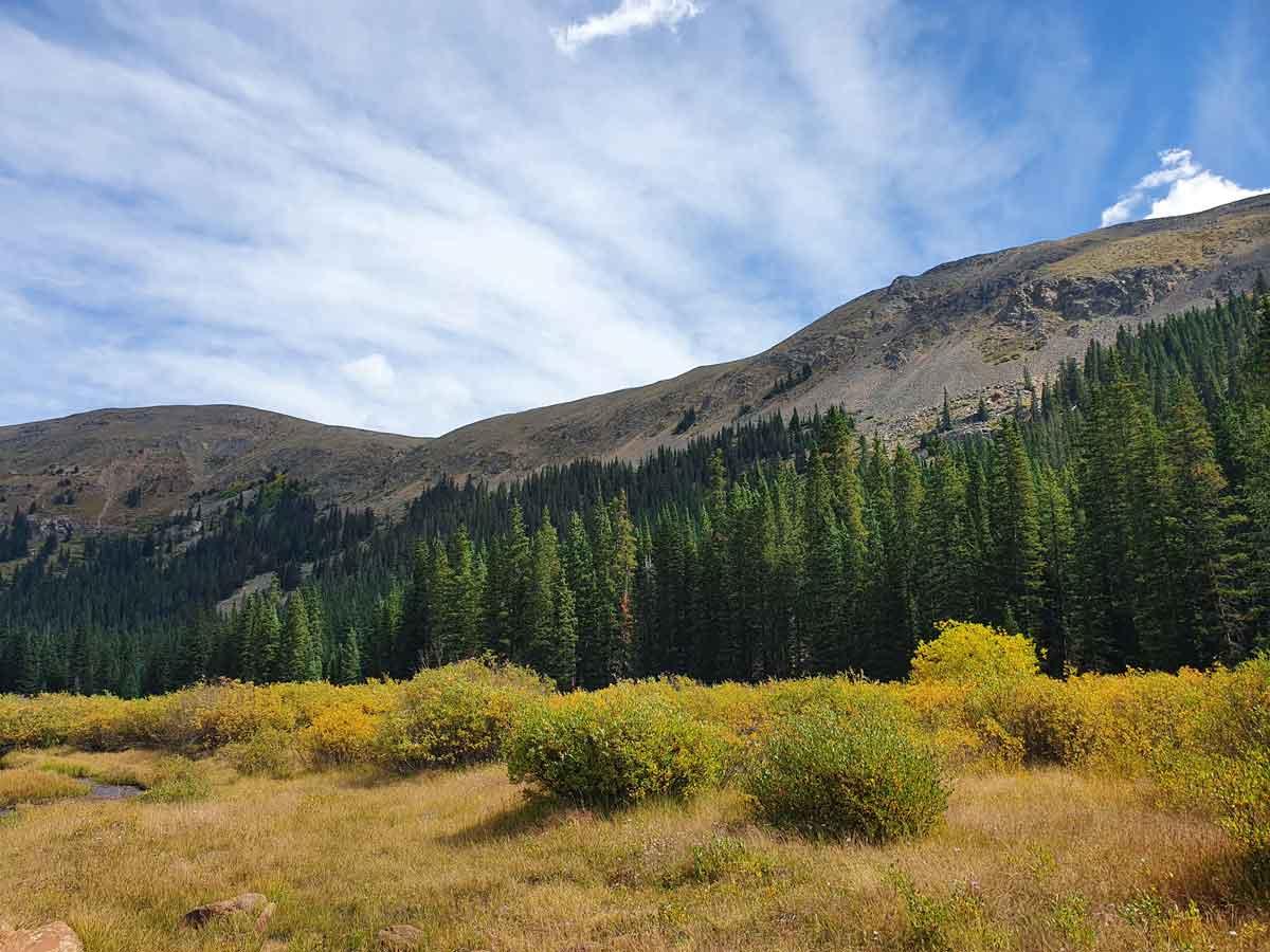 Colorado Rocky Mountains.