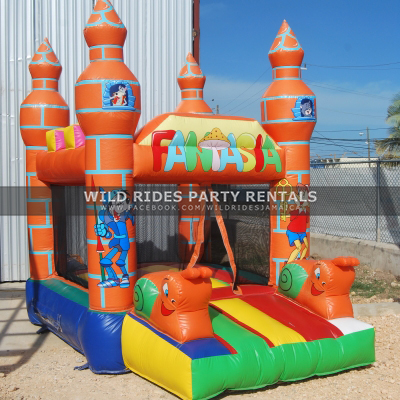 Fantasia Inflatable Bouncer Castle