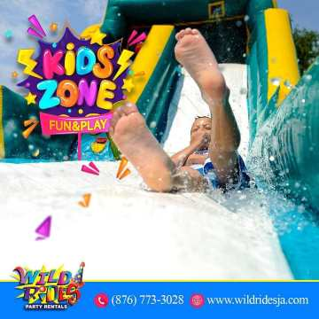 In the kids zone everything is more fun. As a